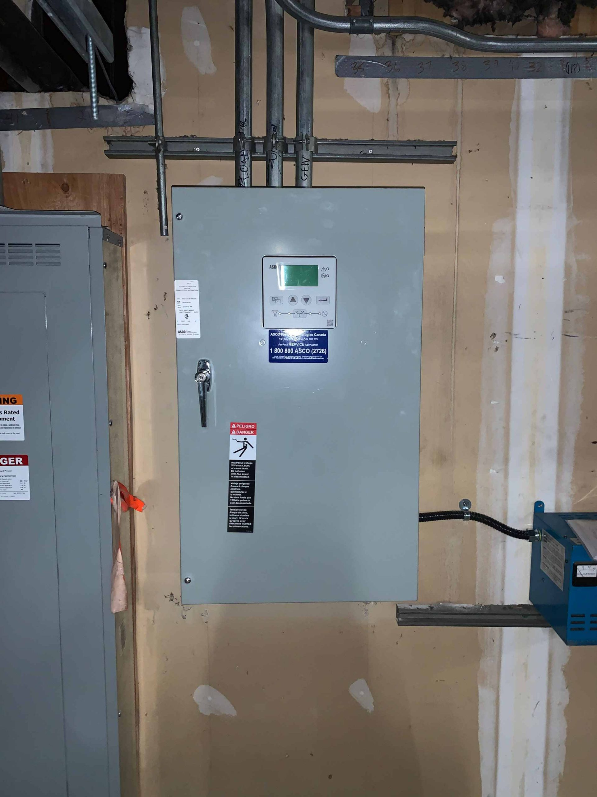 100A Automatic transfer switch